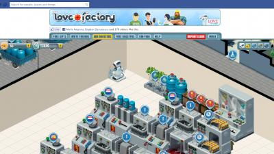 Aplicatie de Facebook: Love Plus - Love Factory (gameplay)