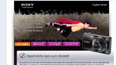 Aplicatie de Facebook: Sony Romania – Sony Cyber-Shot