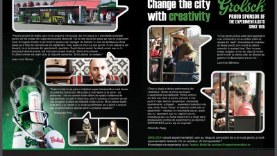 Grolsch - Change the city with creativity, 2