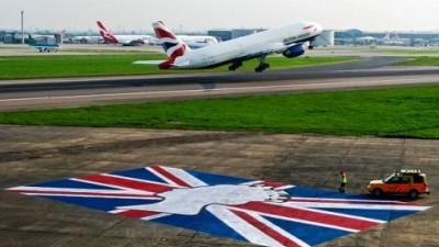 Heathrow - Union Jack Flag