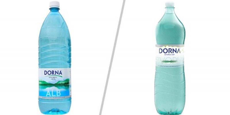 Noul design al sticlei Dorna a fost realizat in parteneriat cu Cocoon Group Bucharest