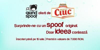 Incepe Grand Spoof 2012. Competitia de parodiat reclame oferita de Ciuc Premium.