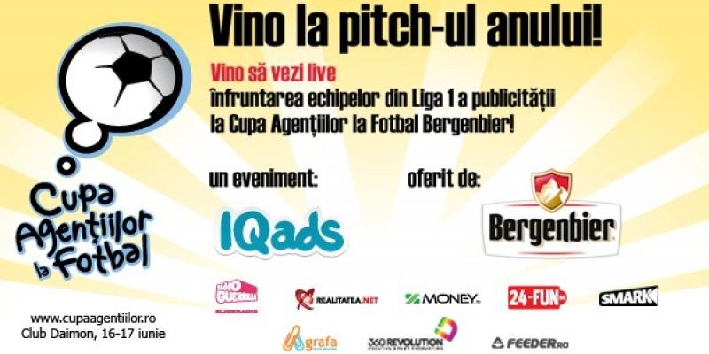 Sambata incepe cea mai disputata editie a Cupei Agentiilor la Fotbal Bergenbier