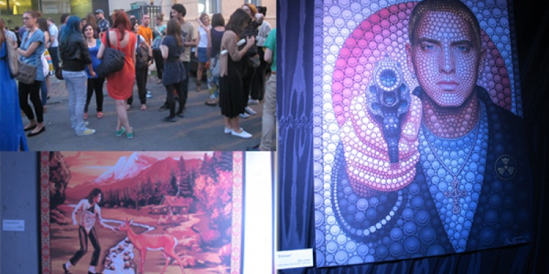 Revolta artistica impotriva kitsch-ului la a doua editie Print Art Fest