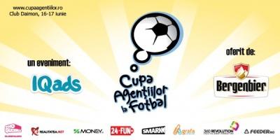 Daedalus Group castiga Cupa Agentiilor la Fotbal Bergenbier, editia 2012