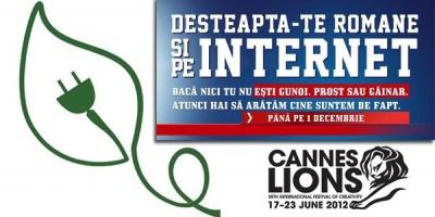 Primele agentii romanesti castigatoare la Cannes Lions 2012 - McCann Erickson (Silver) si Saatchi & Saatchi (Bronze)