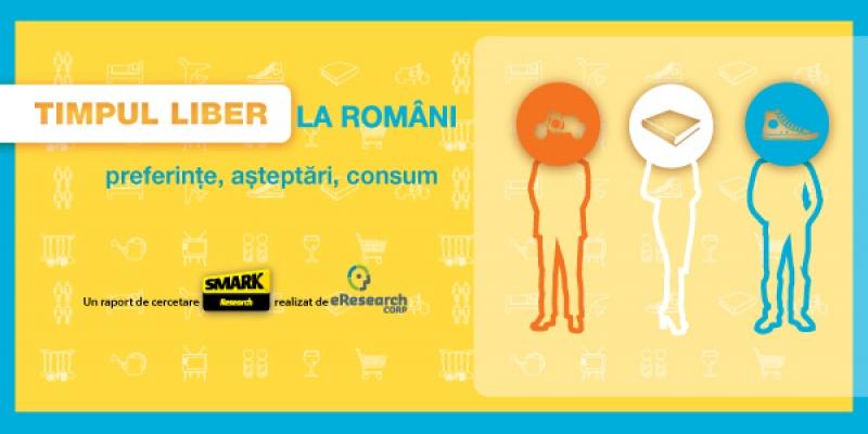 Timpul liber la romani. Preferinte, asteptari, consum. Un nou studiu SMARK Research, realizat de eResearch