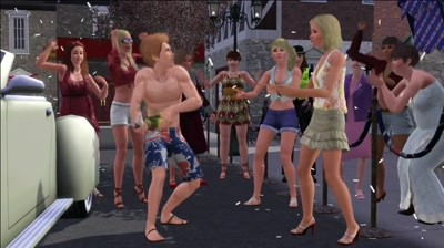 The Sims 3 - Queen's Jubilee Parody
