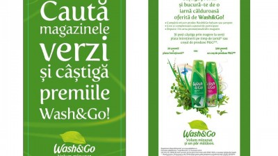Wash&Go - Green up your stores (direct marketing)
