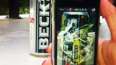 Aplicatie de Augmented Reality: Beck's Green Lemon - Fresh