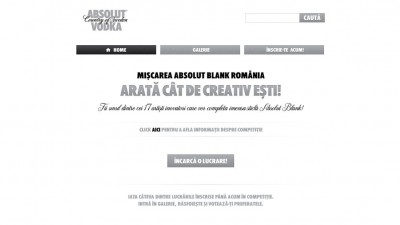 Aplicatie Facebook - ABSOLUT ARTISTS