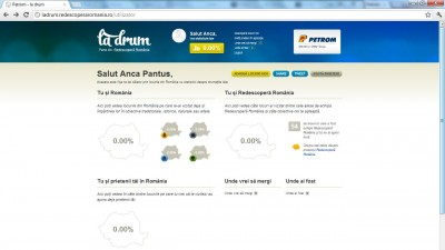 Aplicatie web: Petrom - La Drum instructiuni