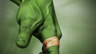 Band Aid - Hulk