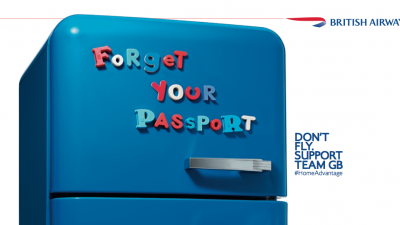 British Airways - Fridge
