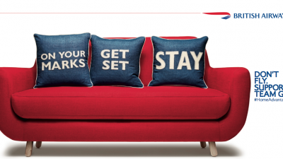 British Airways - Sofa