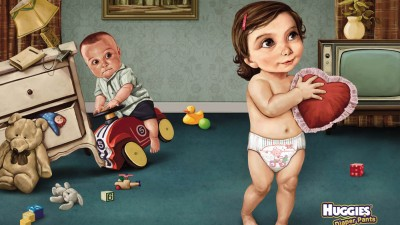 Huggies - For the more mature toddler