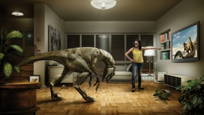 Panasonic 3D TV - Dino