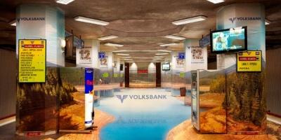 Volksbank si BBDO Group muta barajul Oasa in statia Aurel Vlaicu