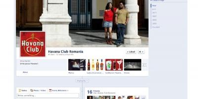 Brandul de rom cubanez Havana Club lanseaza pagina de Facebook pentru fanii din Romania
