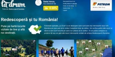 "Aplicatia ""La drum"", parte a campaniei ""Redescopera Romania"""