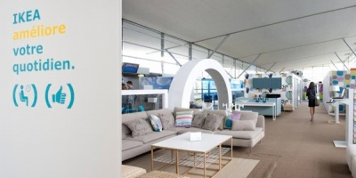 Activari de concediu – IKEA face un preview la acasa inca din aeroport