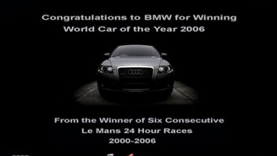 Audi - From the Winner of the Six Consecutive Le Mans 24 Hours Races 2000 - 2006