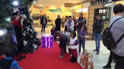 Bucuresti Mall - Santa's home