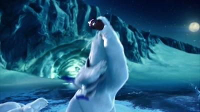 Coca-Cola - Polar Bears watching Super Bowl: Catch