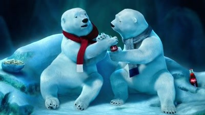 Coca-Cola - Polar Bears watching Super Bowl: Superstition