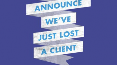 McCann WORLDWIDEGROUP - We're proud to announce we've lost a client