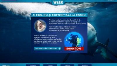 Microsite: Discovery – Shark Week
