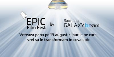 A inceput perioada de vot in cadrul competitiei Epic Film Fest by Samsung Galaxy Beam