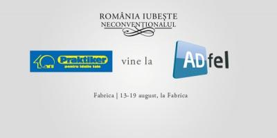 Note de plata neconventionale inspirate de Praktiker la ADfel 2012