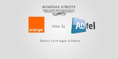 Distreaza-te cu Orange la ADfel 2012