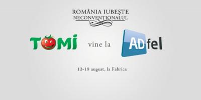 Tomi X-tra iute devine firestarter la ADfel 2012
