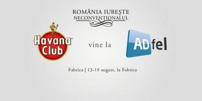 Havana Club aduce esenta capitalei cubaneze la ADfel 2012