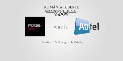 Replici irezistibile si reclame seducatoare vineri la ADfel, cu AXE Excite