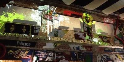 Desperados transforma in week-end terasa Fabrica cu splash-uri de vopsea