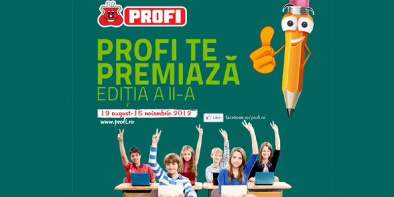 """Godmother implementeaza componentele de online, BTL si PR pentru campania de CSR """"PROFI te premiaza!"""""""