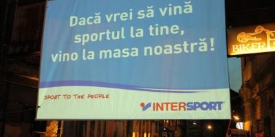 Intersport si GAV au adus sportul mai aproape de oameni la ADfel 2012