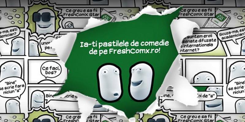 Hyperactive lanseaza astazi un nou site in cadrul platformei de comunicare Tic Tac Fresh Comedy