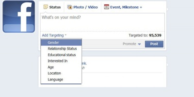 Facebook Page Post Targeting: plusuri si minusuri