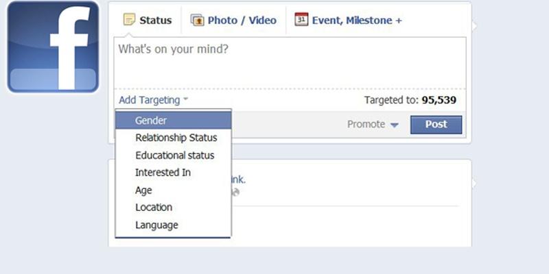 Facebook Page Post Targeting: plusuri si minusuri