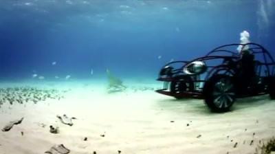 Volkswagen - Beetle Shark Cage Underwater