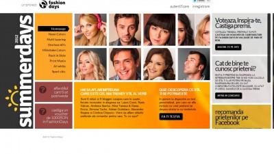 Website: Fashion Days - SummerDays.ro