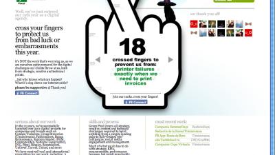 Website: Greenpixel - Homepage