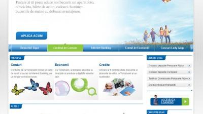 Website: Volksbank - Homepage