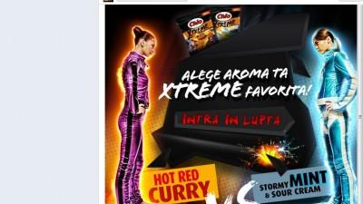 Aplicatie de Facebook: Chio XTREME - Homepage