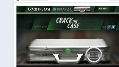 Aplicatie de Facebook: Heineken Crack the Case - Combinatia