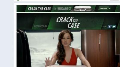 Aplicatie de Facebook: Heineken Crack the Case - Deschide valiza